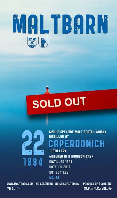Maltbarn 69 – Caperdonich 22 Years