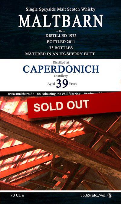 Maltbarn 02 – Caperdonich 39 Years