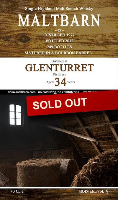 Maltbarn 03 – Glenturret 34 Years