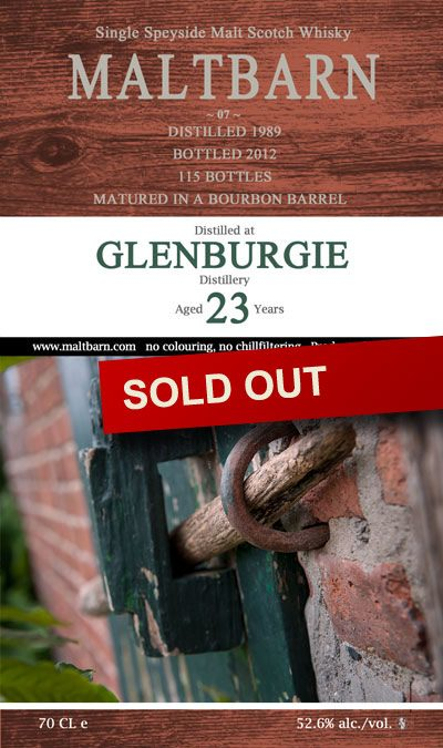 Maltbarn 07 – Glenburgie 23 Years