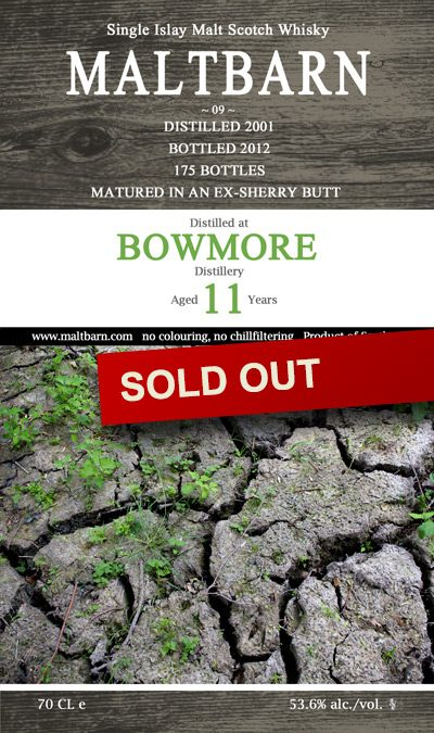 Maltbarn 09 – Bowmore 11 Years