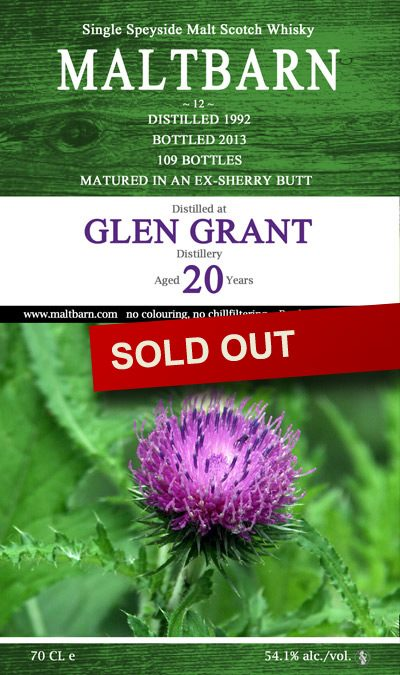 Glen Grant Distillery 20 Years