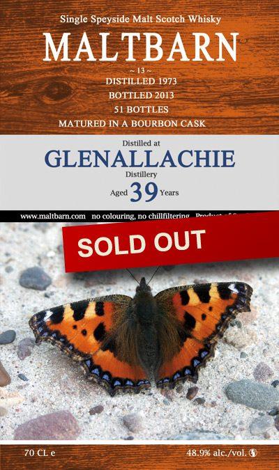 Maltbarn 13 – Glenallachie 39 Years