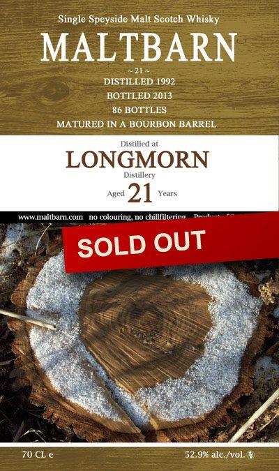 Maltbarn 21 – Longmorn 21 Years