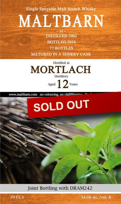 Maltbarn 24 – Mortlach 12 Years