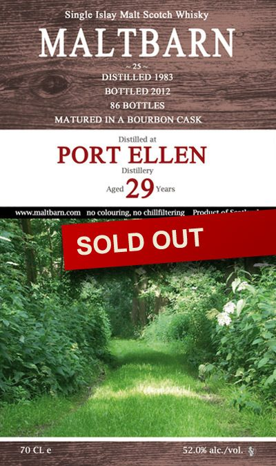 Maltbarn 25 –  Port Ellen 29 Years