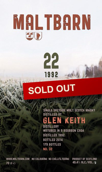 Maltbarn 32 – Glen Keith 22 Years