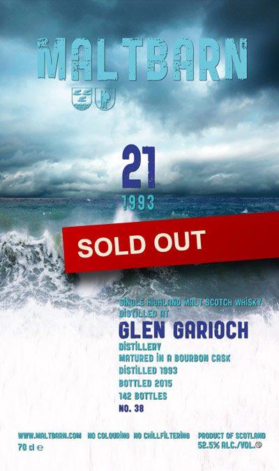 Maltbarn 38 –  Glen Garioch 21 Years