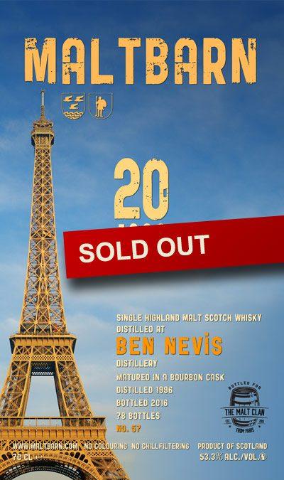 Maltbarn 57 – Ben Nevis 20 Years