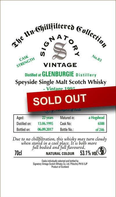 Maltbarn 83 – Glenburgie 22 Years