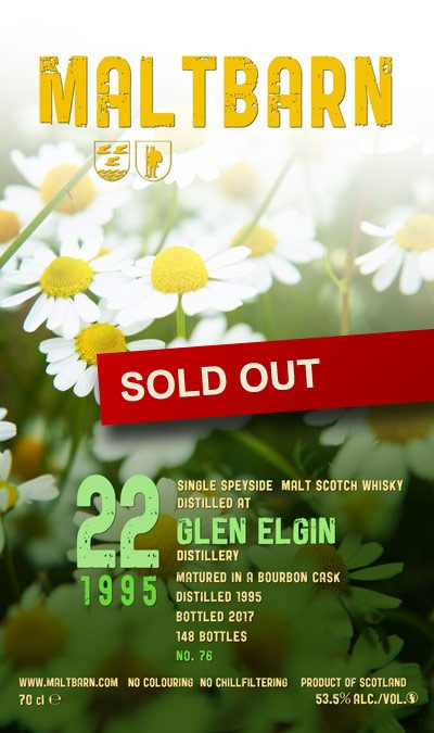 Maltbarn 76 –  Glen Elgin 22 Years