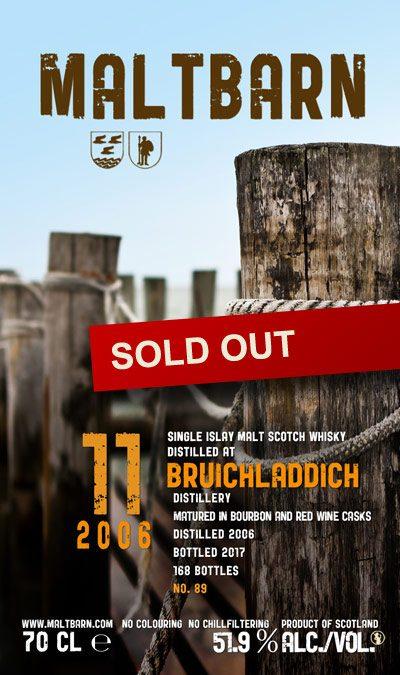 Maltbarn 89 – Bruichladdich 11 Years