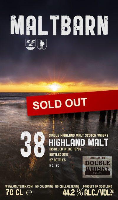 Maltbarn 90 – Highland Malt 38 Years