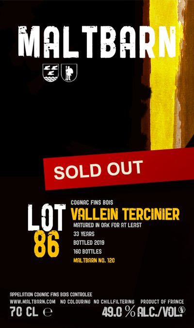 Maltbarn 120 – Vallein Tercinier Fins Bois Cognac