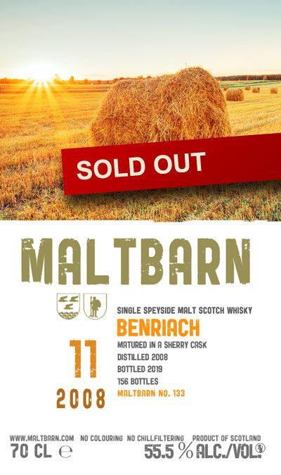 Maltbarn 133 – Benriach