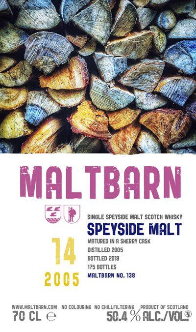 Maltbarn 138 – Speyside Malt