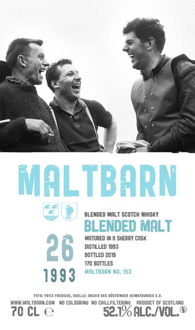 Maltbarn 153 – Blended Malt