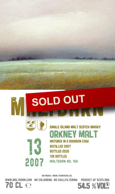 Maltbarn 160 – Orkney Malt