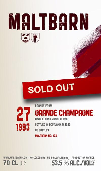 Maltbarn 173 – Grande Champagne